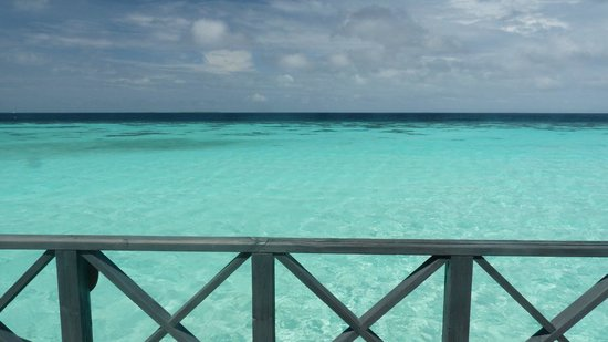 Komandoo Maldives Island Resort: View are alright, I suppose!!!