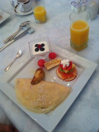 Inn on Frederick: Yummy breakfast
