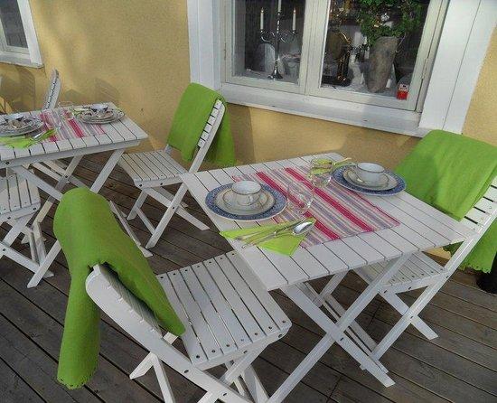 Annas Hotell: Dining
