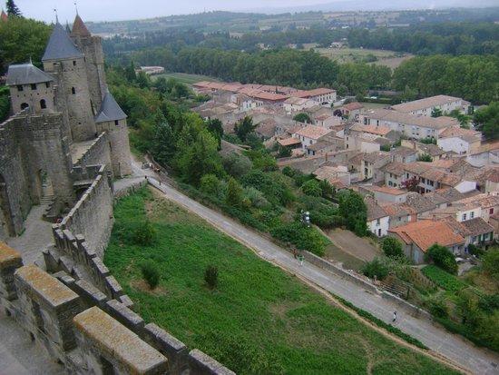 Cathar Castles: Vista do castelo