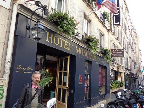 Monceau Wagram Hotel: devanture