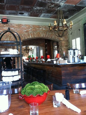 The Brasserie & Neighborhood Cafe at Parish: Upstairs