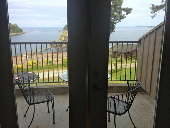 Mayne Island Resort : balcony