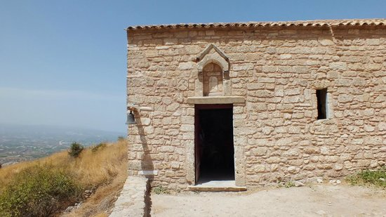 Acrocorinth: chapelle