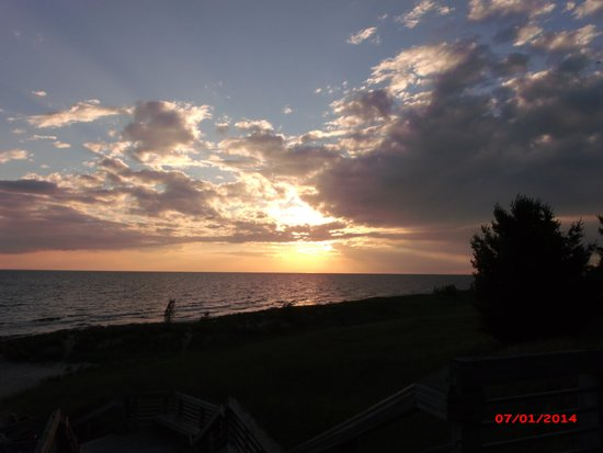 Muskegon State Park : Beautiful sunset