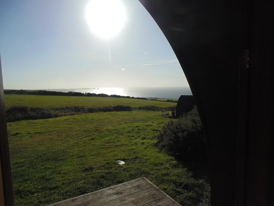 Treligga, UK: View from a Pod
