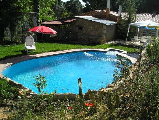 Villalgordo del Jucar, Spania: piscina