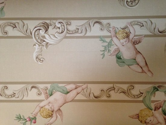 Pilgrim House Inn: Wallpaper