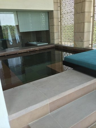 The Lodhi: private pool