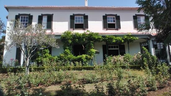Madeira Botanical Garden: the house