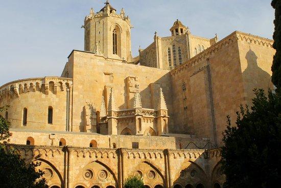 Catedral Basílica Metropolitana Primada de Tarragona: Вид на собор из внутреннего дворика