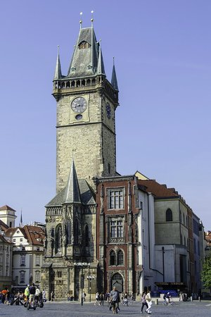 Old Town Hall and Astronomical Clock : Torre del reloj