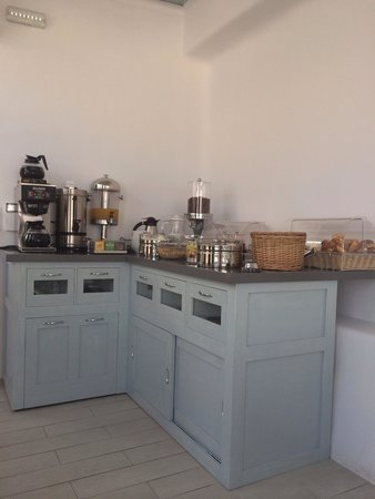 Hotel Spanelis: Le buffet...miam !!!