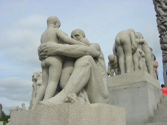 Museo de Vigeland: statue