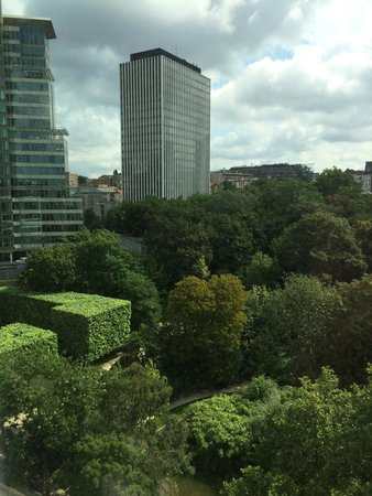 Crowne Plaza Hotel Brussels - Le Palace: View from My Room