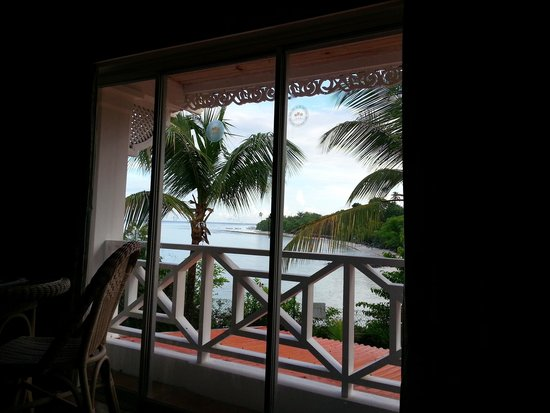 Coco Reef Tobago: View from bedroom (Room 223)