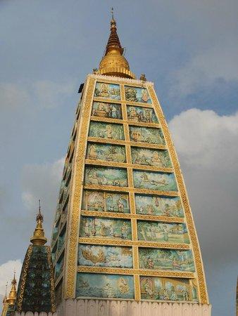 Pagode Shwedagon : de jour