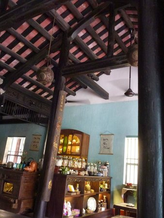 Reaching Out Tea House: Le charme d'une maison ancienne.