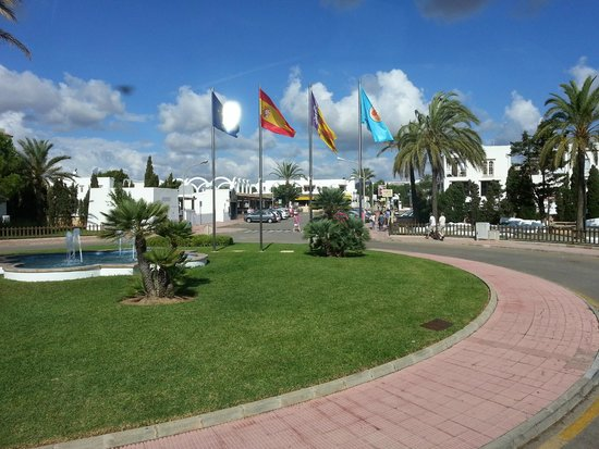 Inturotel Cala Azul Garden: Straße