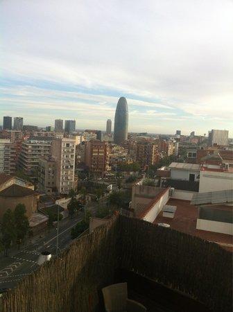 Catalonia Atenas Hotel: Vistas del último piso donde esta la alberca