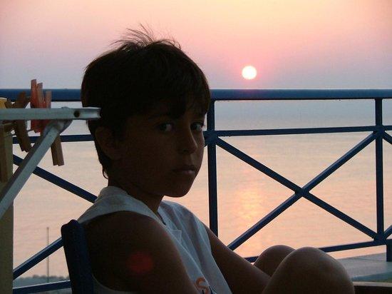 Bella Vista: Morning @ balcony