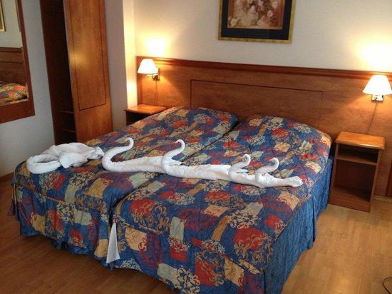 Hardanger Hotel: The shape of towels is a bonus suprise