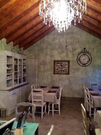 Agriturismo Garumba: Sala cena interna