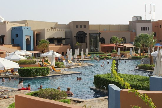 Siva Port Ghalib : Вид на главный бассейн