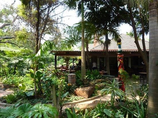 Amanzi Restaurant: View of restaurant.