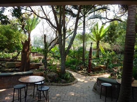 Amanzi Restaurant: View from bar area.