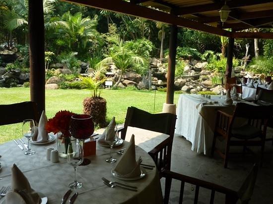 Amanzi Restaurant: View from restaurant.
