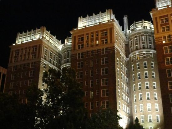 The Peabody Memphis: The Peabody at night