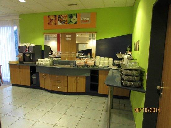 Holiday Inn Express Luzern: free breakfast