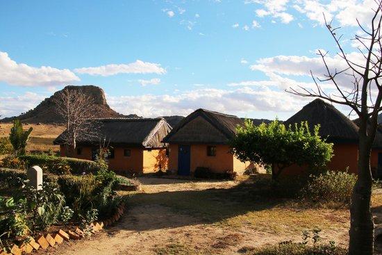 Hotel Isalo Ranch : huisjes