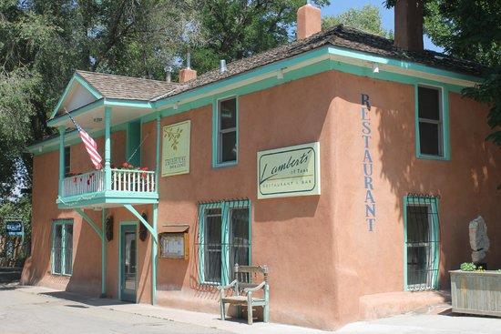 Lambert's of Taos : Juste derrière Taos plaza