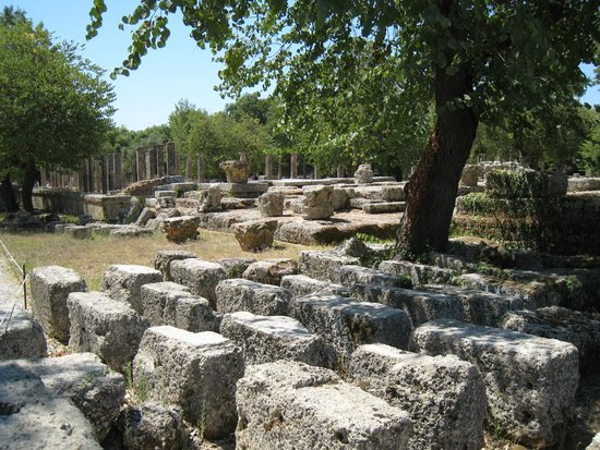 Ancient Olympia: gymnasium