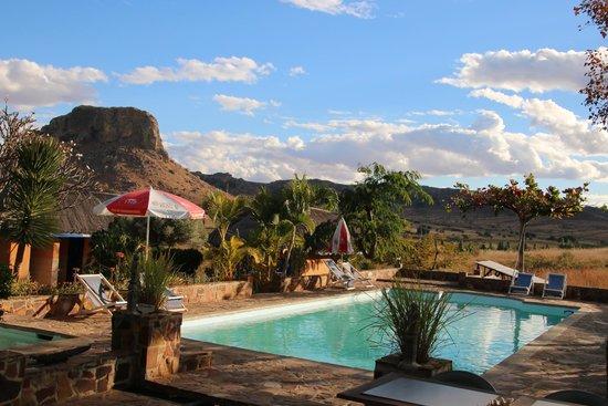 Hotel Isalo Ranch : zwembad