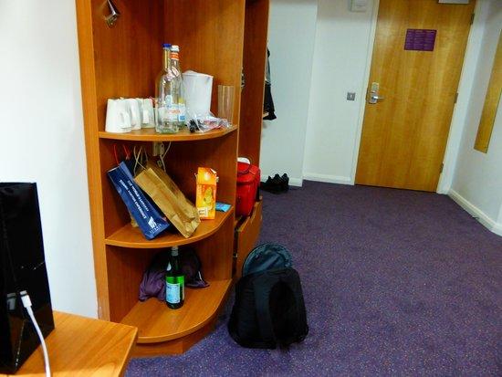 Premier Inn Belfast Titanic Quarter Hotel: It's our mess - Not Premier Inns!!