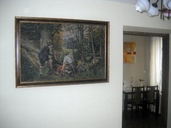 Skapo Apartments Oil Painting