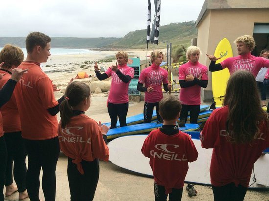 Sennen Surfing Centre: Intro