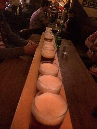 Restaurace Jama: selezioni di 6 birre