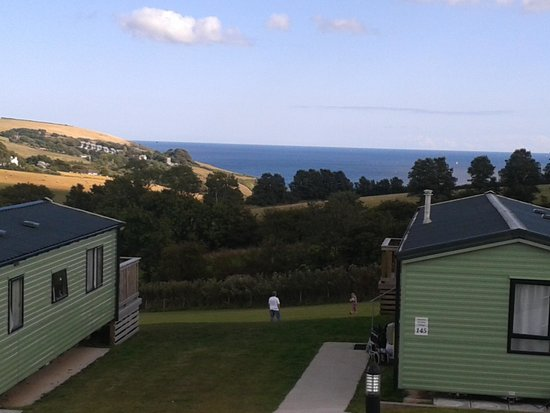 Seaview Holiday Village: The view from caravan regent 16