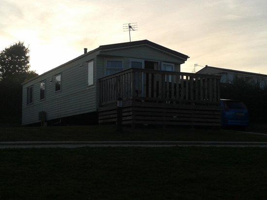 Seaview Holiday Village: Caravan regent 16 plot