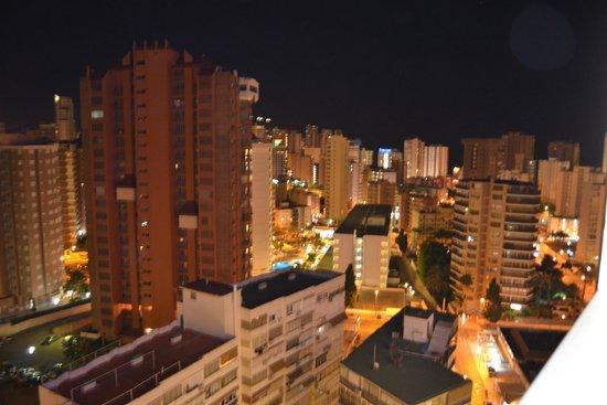 Hotel RH Princesa: Vista desde la terraza de la habitación el la 14ª planta