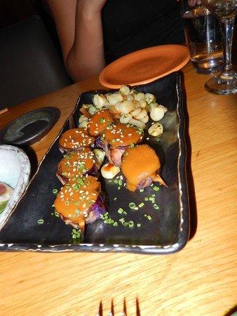 Sushi Samba: Une mise en bouche succulente du menu découverte