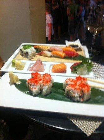 Caparena Sushi & Wine: espectacular