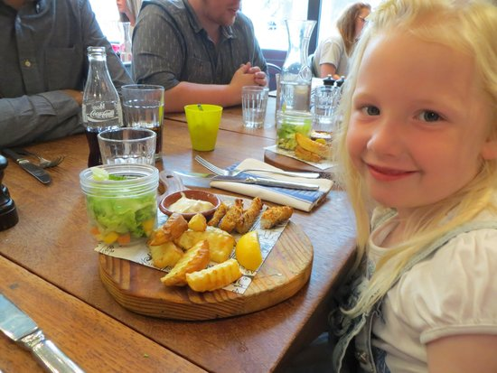 Jamie's Italian: Fish & Chips