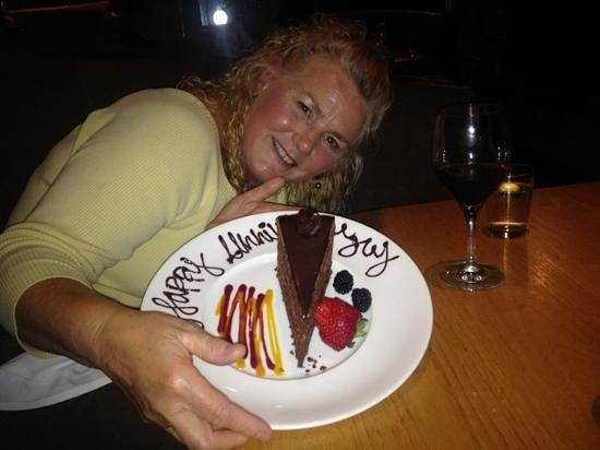Moonraker: we loved our cake