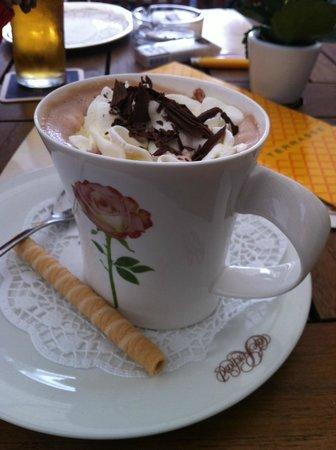 Cafe Reichard: очень вкусный кофе