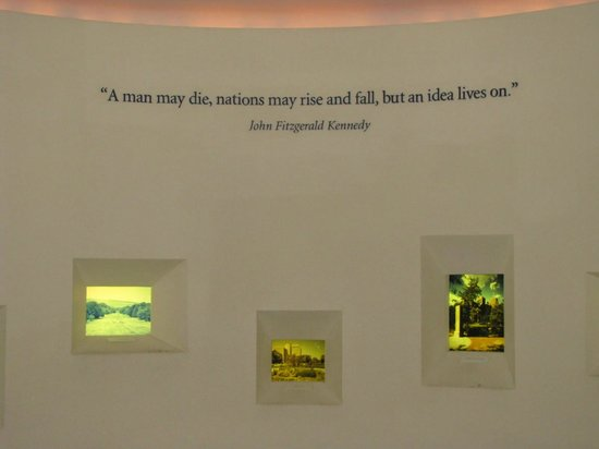 John F. Kennedy Presidential Museum & Library: Tribute